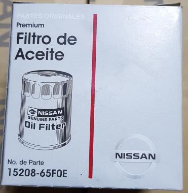 Фильтр масляный 15208-65f0e